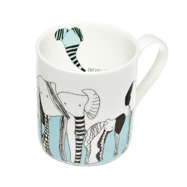 Never Forget Fine Bone China Mug
