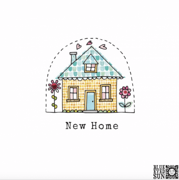 New Home Card - Biscuit
