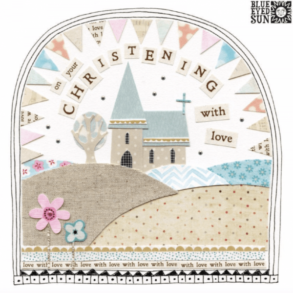 'On Your Christening' Card