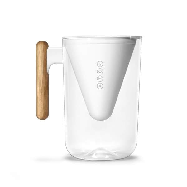 SOMA Filter Jug 6-Cup (1.3L) White