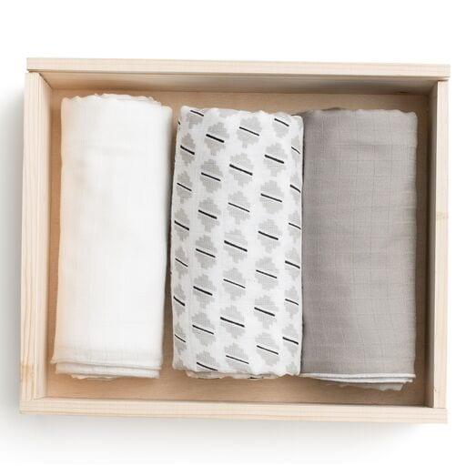Muslin Swaddle Gift Set Box