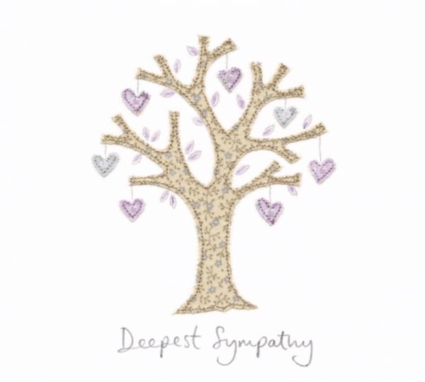 Sympathy Card Sew Delightful