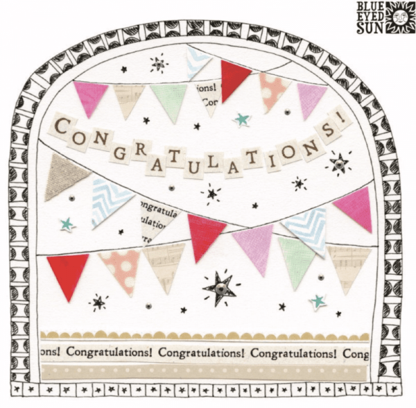 Congratulations Fiesta Card