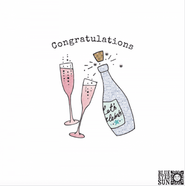 Congratulations Card Biscuit Range