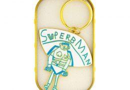 Superbman Enamel Keyring