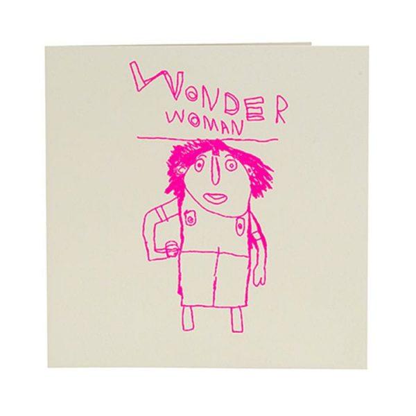 Wonderwoman Card