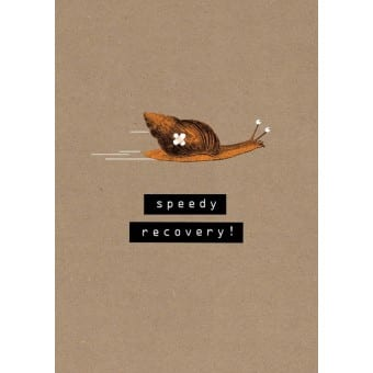 Speedy Recovery Get Well Soon Card