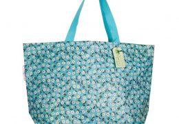 Large Daisy Shopping Bag
