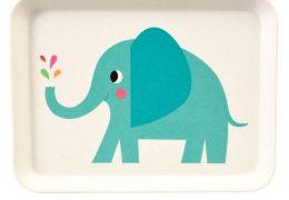 ELVIS THE ELEPHANT BAMBOO Tray