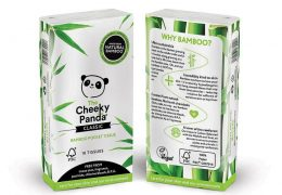 Cheeky Panda 100% bamboo sustainable tissues