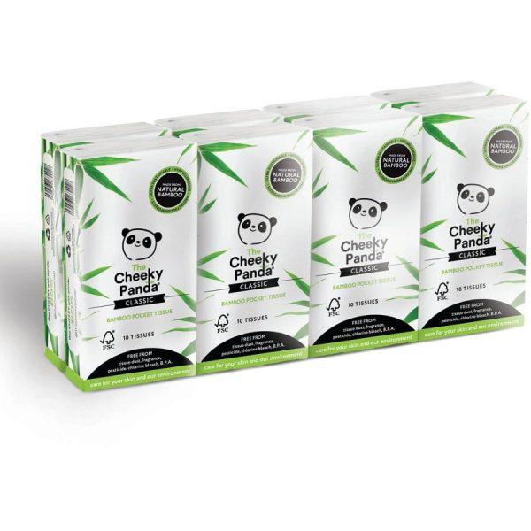 Cheeky Panda 100% bamboo sustainable tissues