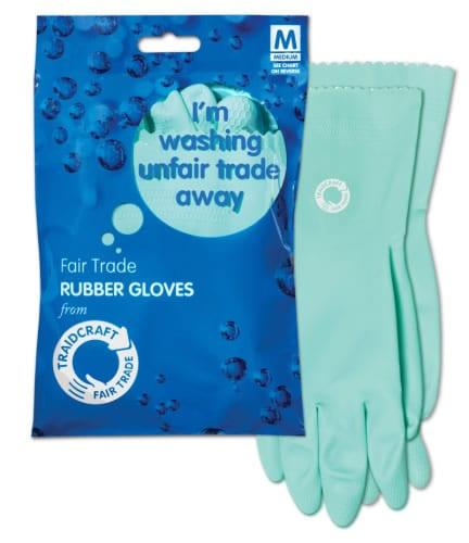 Fair Trade Rubber Gloves