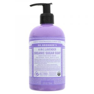 BRONNER'S LAVENDER PUMP SOAP - 1 X 355ML