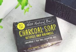 CHARCOAL SOAP DETOX BAR 100% NATURAL VEGAN