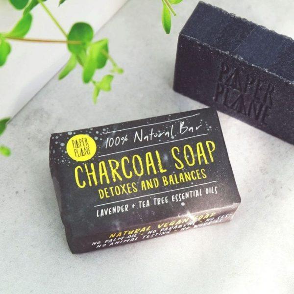 CHARCOAL SOAP DETOX BAR 100% NATURAL VEGAN