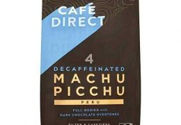 CaféDirect Decaffinated Machu Picchu Coffee Strength 4