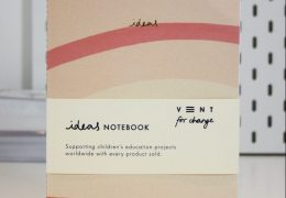 Illustrated Soft Cover A5 Notebook – Idea's Cream