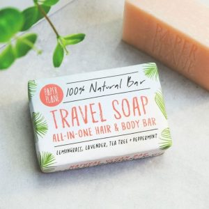 Travel Soap (100% Natural, Vegan)