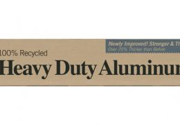 100% recycled heavy duty aluminium foil by If You Care