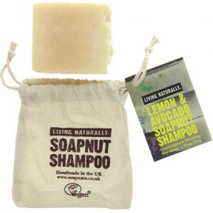 Lemon & Avocado Shampoo Bar