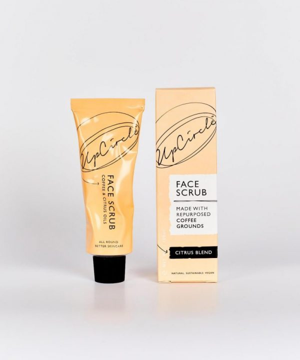 UpCircle at Qbamboo COFFEE FACE SCRUB CITRUS BLEND 100ML