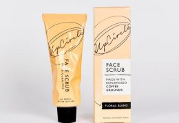 UpCircle at Qbamboo COFFEE FACE SCRUB FLORAL BLEND 100ML