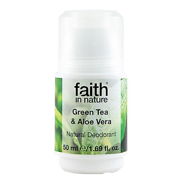 GREEN TEA & ALOE VERA ROLL-ON DEODORANT