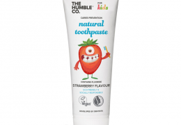 The Humble Co Kids Strawberry Fluoride Toothpaste at Qbamboo