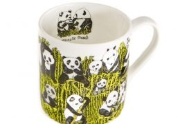 Panda Party Design Fine Bone China Mug