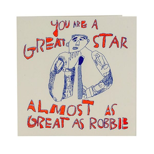 You're Great Card Robbie Williams