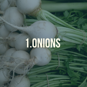 10 foods you can grow at home - onions