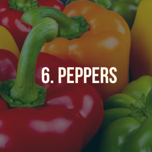 10 foods you can grow at home - peppers