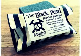 Black Pearl Natural Shaving Soap
