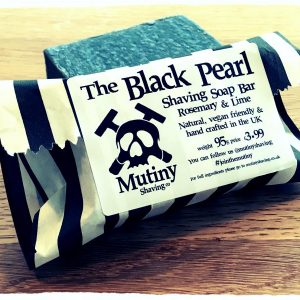 Black Pearl Natural Shaving Soap