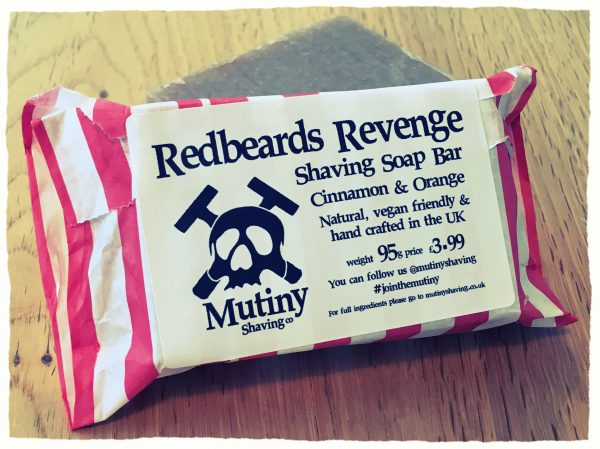 Redbeards Revenge Natural Shaving Soap Mutiny