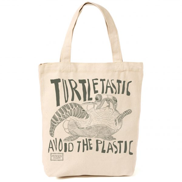 Turtletastic Design Canvas Shopper