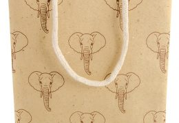 Elephant Dung Paper Gift Bag