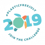 #Plasticfreejuly2019-join-the-challenge stamp hi res