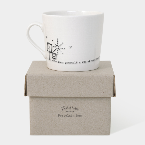 Wobbly mug-Cup of ambition