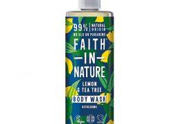 Faith In Nature lemon & tea tree body wash