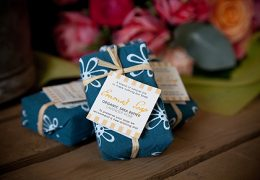 Organic Shea Butter Soap (Lavender Rose)