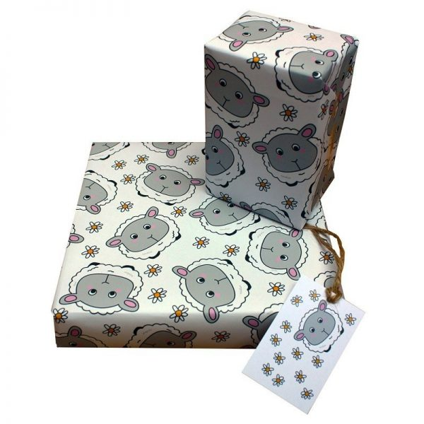 Sheep & Daisy : Recycled Wrapping Paper