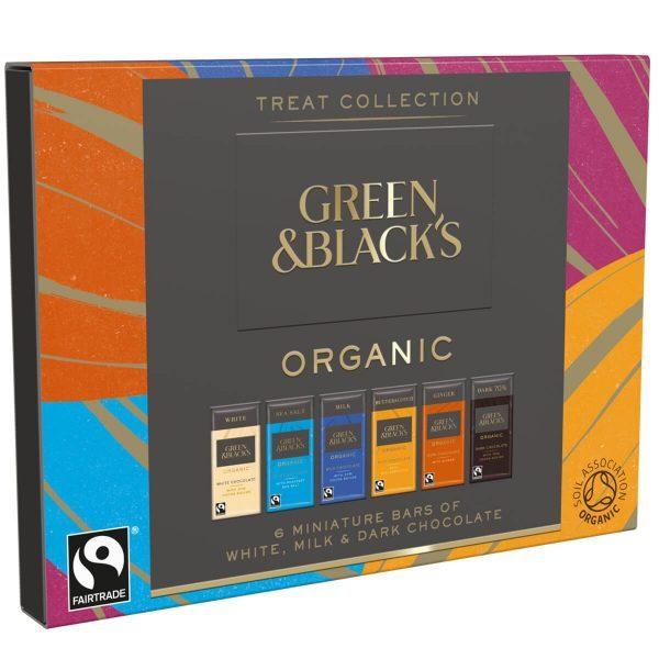 Green & Black's Organic Treat Collection 90g Organic Fair Trade