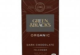 Green & Black's Organic Dark 70% Chocolate