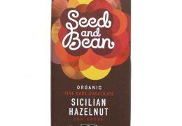 Seed & Bean Dark Chocolate and Hazelnut Bar