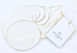 Organic Cotton reusable make up pads