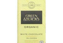 Green & Blacks Organic White Chocolate