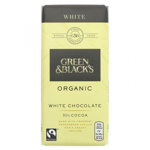 Green & Blacks Organic White Chocolate