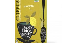 Lemon & Ginger Tea, Organic, Clipper (20 bags)