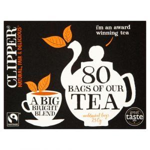 Clipper Fairtrade Blend[80 Bags]